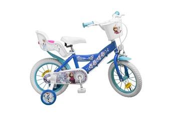 Vélos enfant AUCUNE La reine des neiges v?lo enfant fille 14 -?4/7 ans??- bleu