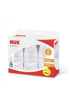 Biberon Nuk Lot de 3 biberons first choice+ tc 150 ml (2 + 1 offert)