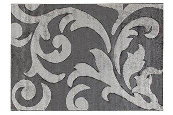 Tapis enfant Abc Abc tapis palais 120 x 170 cm argent métallique