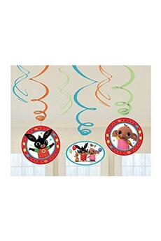 Tout pour la fête Amscan International Amscan international 9901512bing swirl décoration kit