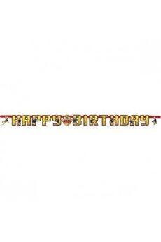Tout pour la fête Amscan International Amscan international 9902180 1.6 m x 13 cm sam le pompier bannière joyeux anniversaire