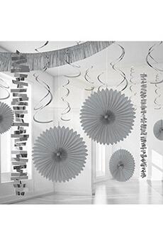 Tout pour la fête Amscan International Amscan international 241700argent 1855kit de décoration de chambre