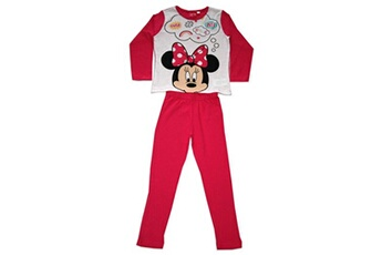 Range Pyjama Guizmax Pyjama minnie taille 7 ans manche longue pantalon fille