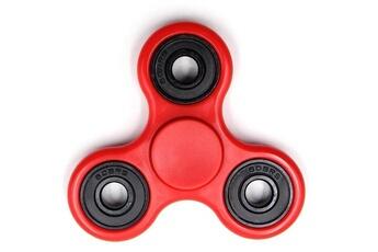 Autres jeux créatifs Justgreenbox Fidget hand spinner roue en plastique 9 couleurs edc doigt pour anti-stress/tdah jouets drôles,noir