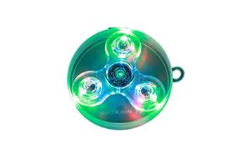Autres jeux créatifs Justgreenbox Luminous fidget spinner transparent glow in the dark soulagement du stress jouets pour enfants