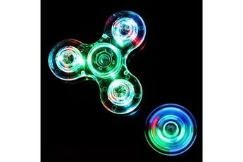 Autres jeux créatifs Justgreenbox Luminous fidget spinner glow in dark light edc batman finger stress relief toys,crystal