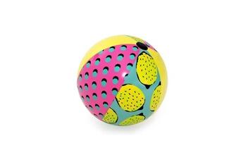 Aire de jeux gonflable Bestway Ballon de plage géant retro fashion 122 cm