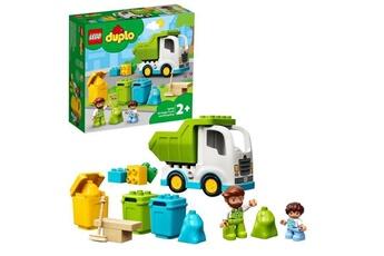 Autres jeux de construction Lego Lego 10945 duplo le camion poubelle et le tri sélectif jeu de construction éducatif pour enfant 2 ans et plus