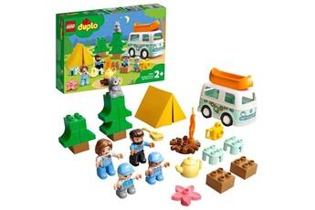 Autres jeux de construction Lego Lego 10946 duplo town aventures en camping-car en famille jouet enfant 2+ ans, set éducatif