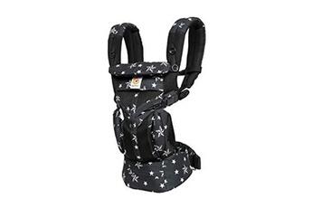 Porte bébé ERGOBABY Ergobaby porte bébé dorsaux porte bebe ergonomique et physiologique pour nouveau né, omni 360 cool air mesh multiposition dorsale et ventral, black