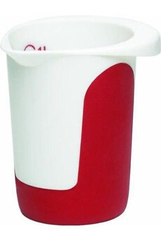 Mixeur cuiseur Emsa Emsa 2029940 mix & bake pot mixeur 1,0 l blanc/rouge