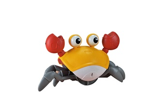 Jouets éducatifs GENERIQUE Induction hairy crab toy anti-obstacles pet toy for kids gift for toddler or kid multicolore