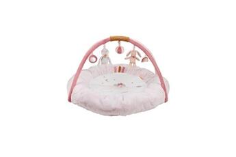 Tapis d'éveil NATTOU Tapis d'éveil pouf avec arches sasha & pauline - ø 90 cm - des la naissance - 100% polyester - rose