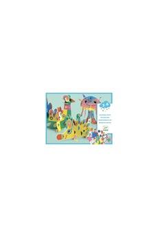 Peinture et dessin Djeco Djeco dj08983 - assemblage volume animaux 3d