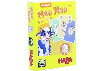Jeux de cartes HABA Jeu de cartes haba mau mau junior a la ferme