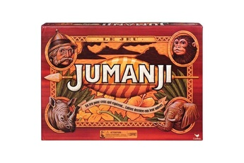 Jeux en famille Shot Case Jumanji - jeu de plateau - édition rétro