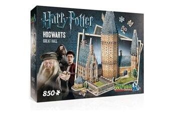 Figurine Shot Case Puzzle 3d - harry potter : la grande salle de poudlard - 850 pcs