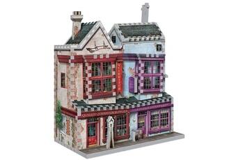 Figurine Shot Case Puzzle 3d - harry potter : boutiques quidditch - 305 pcs
