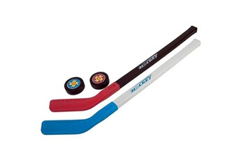Jeux en famille Wdk 2 crosses hockey +2 palets
