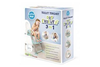 Pot bébé BUKI Pot évolutif 3 en 1 toilet trainer