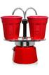 Cafetière italienne ou à piston SET MINI EXPRESS ROUGE 6190 Bialetti