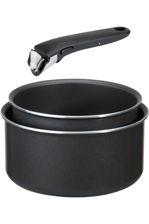 casserole tefal ingenio 5 ptfe noir 3 pcs ca darty. Black Bedroom Furniture Sets. Home Design Ideas