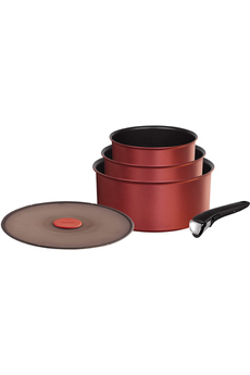 Casserole INGENIO PERFORMANCE ROUGE CASSEROLES Tefal