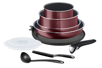 Casserolerie Tefal INGENIO COOK'N CLEAN Set 10 pièces L2379502