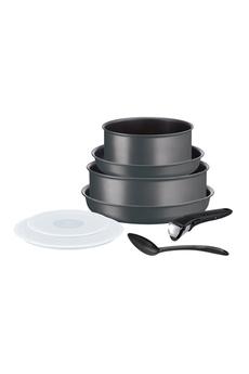 Casserolerie Tefal INGENIO PERFORMANCE Gris Coal Batterie de cuisine 8 pièces