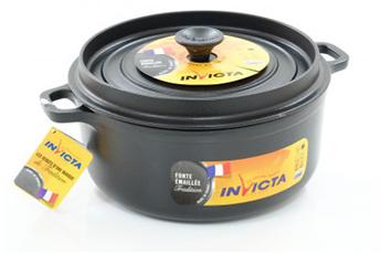 cocotte faitout marmite cocotte fonte 24cm n invicta - Faitout Induction Carrefour
