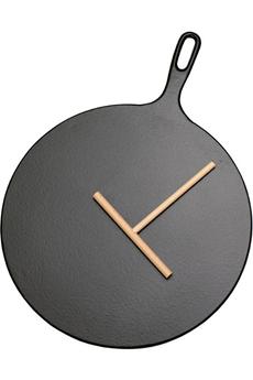 Cocotte / faitout / marmite CREPIERE 32 CM FONTE NOIRE Invicta