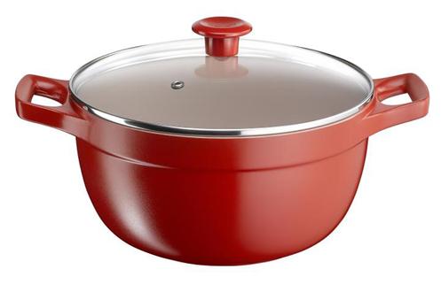 Cocotte / faitout / marmite CERAM ROUGE FAITOU24 Tefal