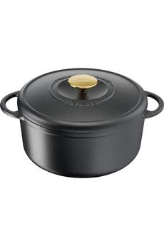 Cocotte / faitout / marmite Tefal Cocotte fonte d'acier ronde HERITAGE 21 cm