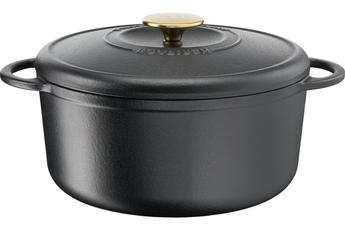 Cocotte / faitout / marmite Tefal Cocotte fonte d'acier ronde HERITAGE 5,1 L