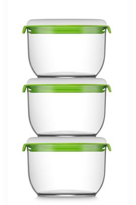 Boîte alimentaire Fosa 30850 KIT DE 3 CONTENANTS (850ml X3)