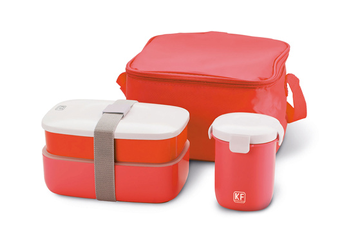 Boîte de rangement LUNCH BOX RED Kitchen Friday