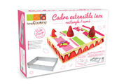 Scrapcooking CADRE RECTANGLE EXTENSIBLE