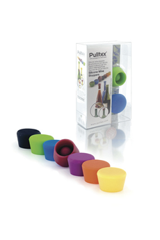 Tire-bouchon / bouchon BOUCHON VIN SILICONE X2 Pulltex