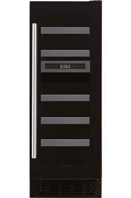 Cave de service Capacité de 16 bouteilles Contrôle électronique avec affichage digital 2 zones