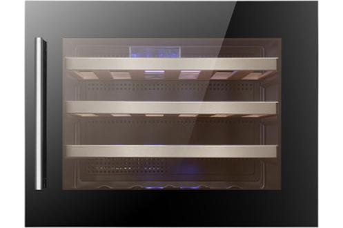 Cave de mise en température Capacité de 24 bouteilles Contrôle électronique avec affichage LED 1 zone