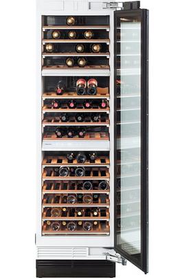 Capacité 102 bouteilles 14 clayettes extractibles Eclairage BrillantLight 3 zones de températures