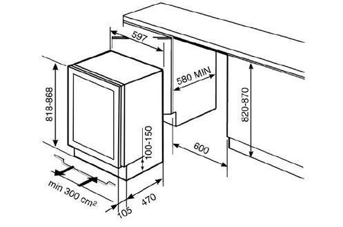 cave a vin encastrable smeg cvi38x 3547469. Black Bedroom Furniture Sets. Home Design Ideas