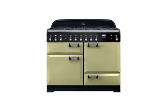 Piano de cuisson Falcon ELAN DELUXE Mixte 110 CM VERT OLIVE/CHROMEE ELA110DFOG/-EU