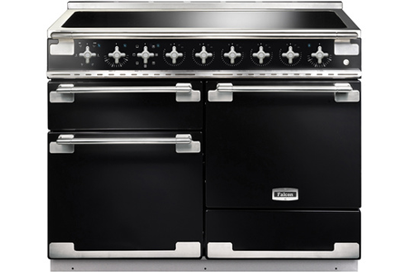piano de cuisson falcon elise 110cm induction noir brillant els110eigb eu darty. Black Bedroom Furniture Sets. Home Design Ideas