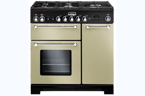 Piano de cuisson Falcon KITCHENER MIXTE 90cm CREME CHROME - KCH90DFRCC/-EU