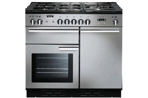Piano de cuisson Falcon Professional + MIXTE 100cm INOX/CHROME - PROP100DFSS / C EU