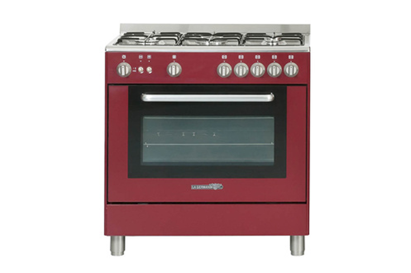 Piano de cuisson la germania t85c20vidt rouge 3557677 darty - Piano cuisson la germania ...