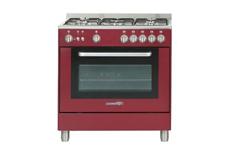 piano de cuisson la germania t85c20vidt rouge darty. Black Bedroom Furniture Sets. Home Design Ideas