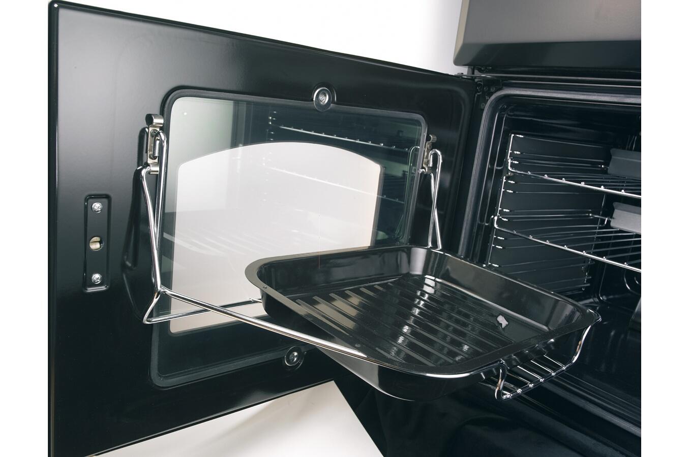 Piano de cuisson leisure cm10frkp noir 3594203 darty - Piano de cuisson darty ...