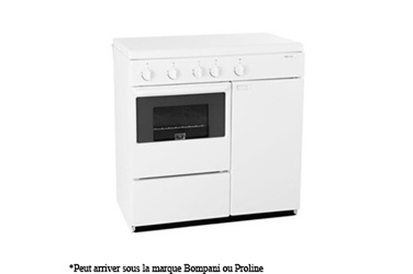 proline butanette pbt850w f cuisini re electrom nager. Black Bedroom Furniture Sets. Home Design Ideas